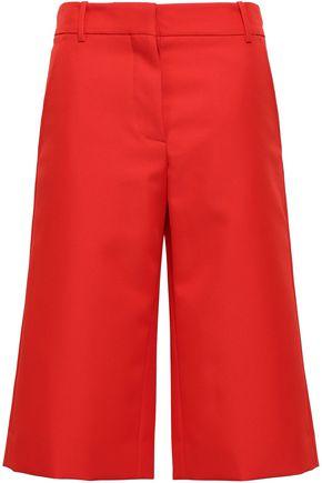 MARNI Flared twill shorts