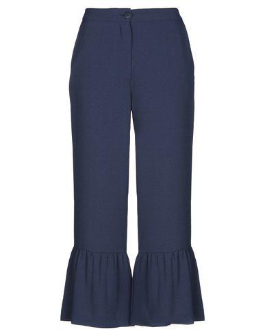 Фото - Повседневные брюки от SE-TA Rosy Iacovone грифельно-синего цвета