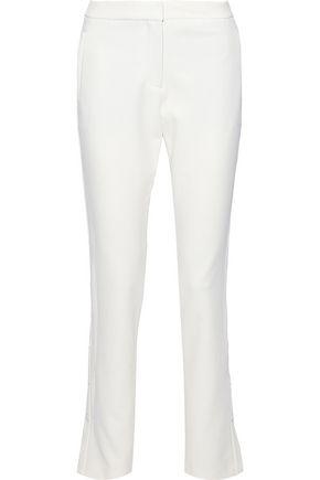 TIBI Crepe straight-leg pants