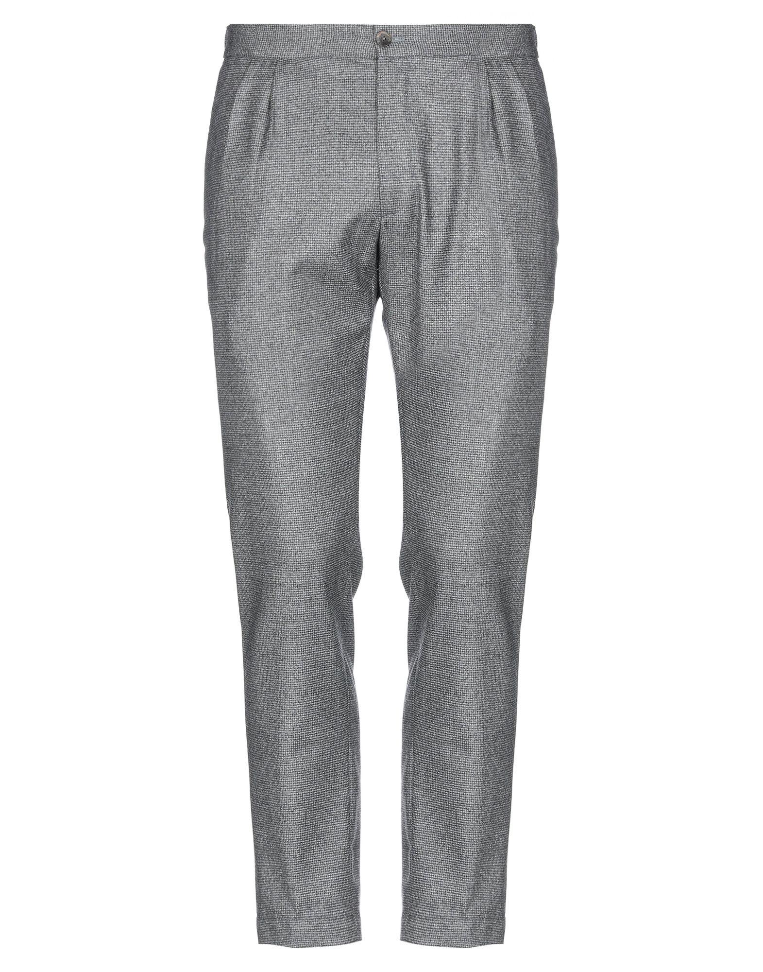 《セール開催中》DEVORE INCIPIT メンズ パンツ グレー 52 バージンウール 100%