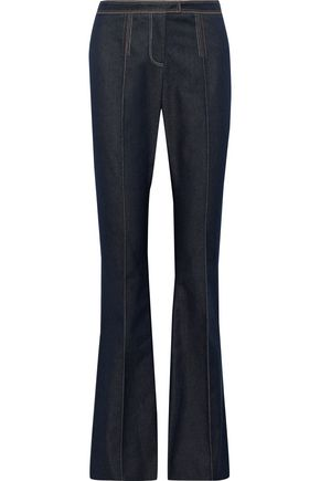 CAROLINA HERRERA Mid-rise flared jeans