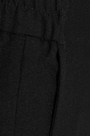 ANN DEMEULEMEESTER Cropped wool slim-leg pants