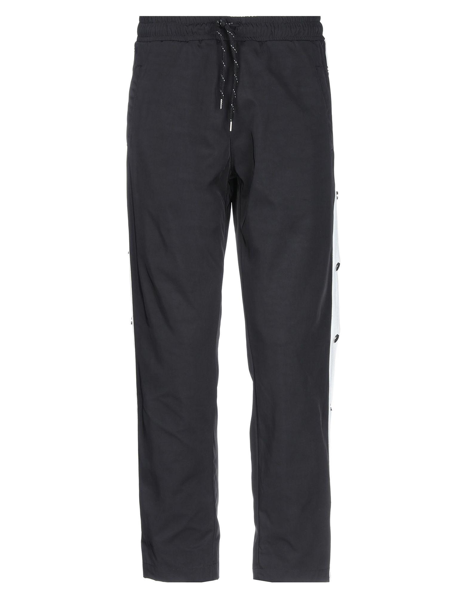 《セール開催中》ANDREA CREWS メンズ パンツ ブラック S ナイロン 100%