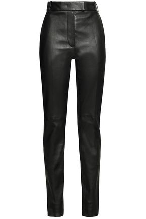JOSEPH Leather skinny pants