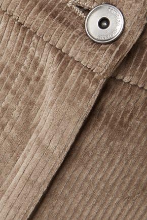 BRUNELLO CUCINELLI Cotton-corduroy wide-leg pants