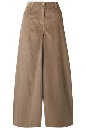 BRUNELLO CUCINELLI Cotton-corduroy wide-leg pants