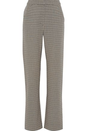 A.L.C. Houndstooth jacquard straight-leg pants