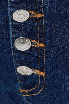 VERONICA BEARD Carolyn cropped high-rise bootcut jeans