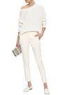 JOSEPH New Eliston cropped stretch-cotton twill slim-leg pants
