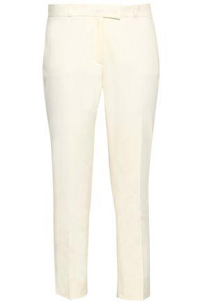 JOSEPH Cropped stretch-cotton slim-leg pants