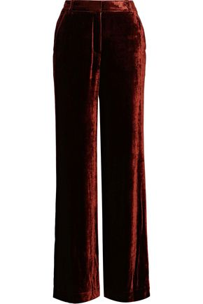 A.L.C. Ashbury velvet wide-leg pants