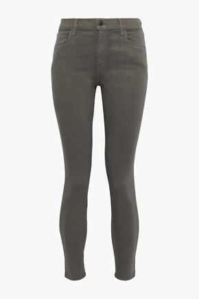 J BRAND Memory mid-rise skinny jeans