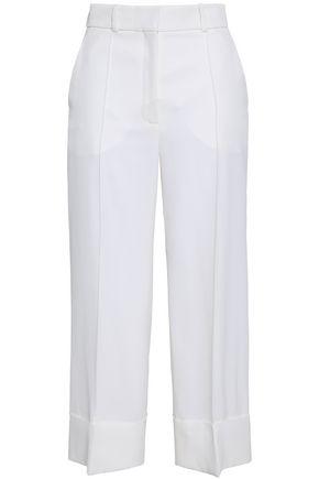 RACIL Cropped wool wide-leg pants
