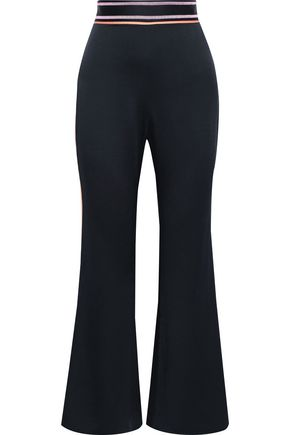 PETER PILOTTO Duchesse-satin flared pants