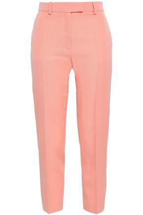 RACIL Cropped wool slim-leg pants