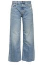 SIMON MILLER Faded high-rise wide-leg jeans