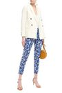 ISOLDA Brigitte printed stretch-cotton canvas tapered pants