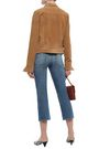 7 FOR ALL MANKIND Cropped mid-rise straight-leg jeans