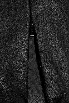 IRIS & INK Stretch-leather leggings