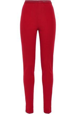 PRADA Ribbed-knit leggings