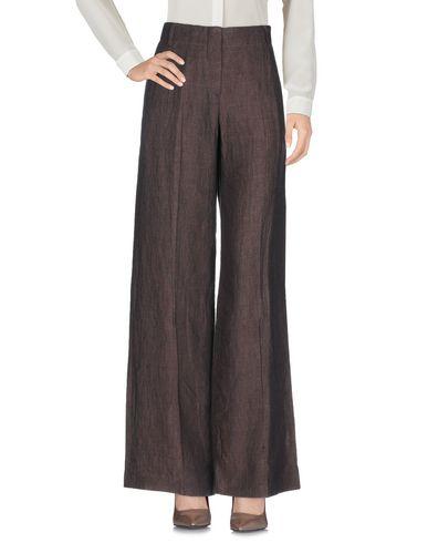 Фото 2 - Повседневные брюки от GUNEX темно-коричневого цвета