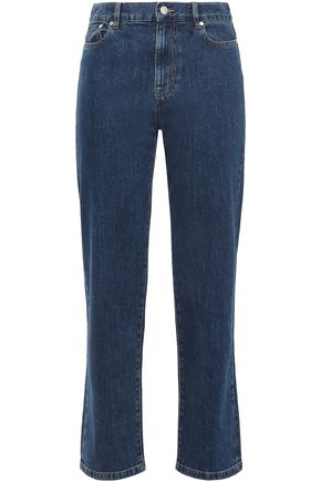 JOSEPH Taren high-rise straight-leg jeans