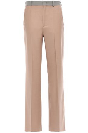JOSEPH Twill straight-leg pants