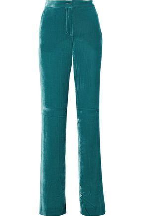 ALBERTA FERRETTI Velvet bootcut pants