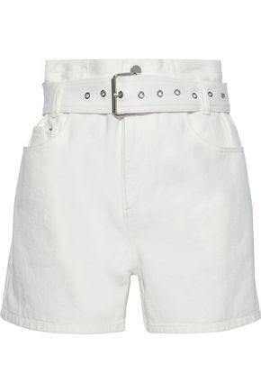 3.1 PHILLIP LIM Belted denim shorts