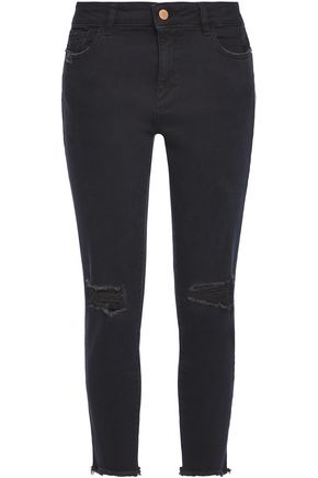 DL1961 Faded mid-rise skinny jeans