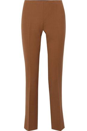 ALBERTA FERRETTI Wool-blend slim-leg pants