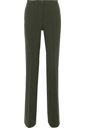 ALBERTA FERRETTI Stretch-twill straight-leg pants