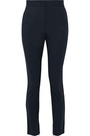 ALBERTA FERRETTI Cropped twill slim-leg pants