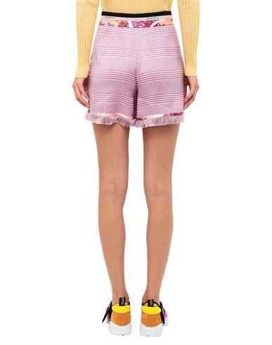 Фото 2 - Повседневные шорты цвета фуксия