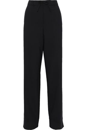 JIL SANDER Wool-blend straight-leg pants
