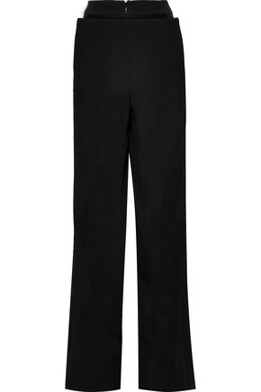 VALENTINO Wool wide-leg pants