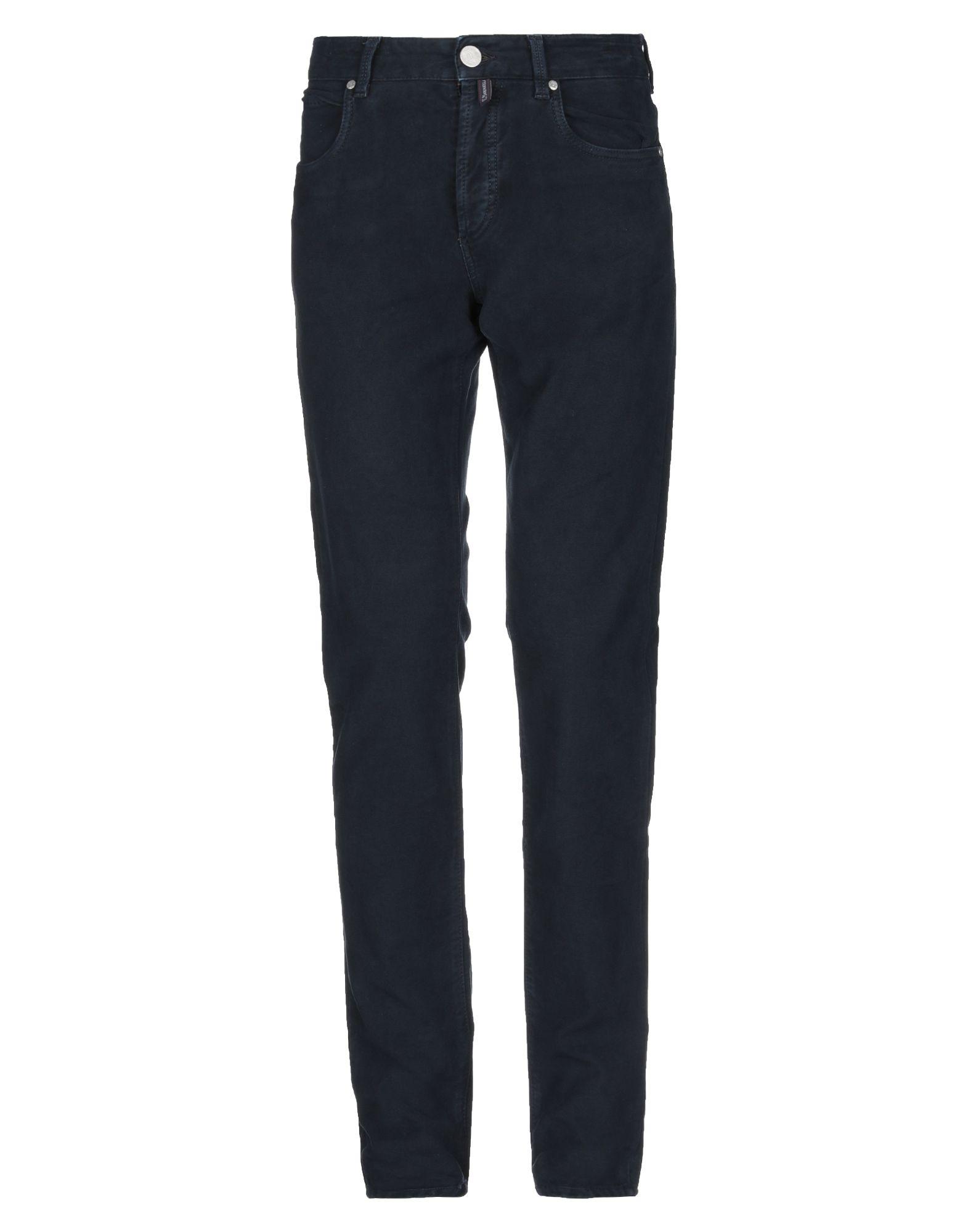 《期間限定 セール開催中》E.MARINELLA メンズ パンツ ダークブルー 32 コットン 98% / ポリウレタン 2%