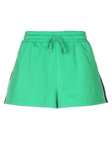 Фото - Повседневные шорты от FENTY PUMA by RIHANNA зеленого цвета