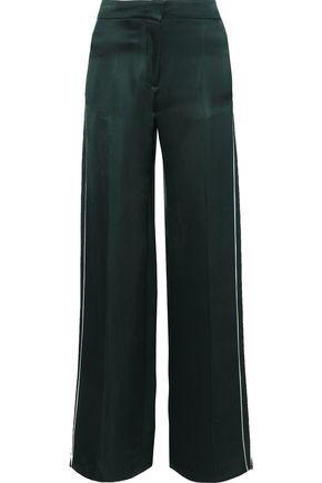 PETER PILOTTO Satin-twill wide-leg pants