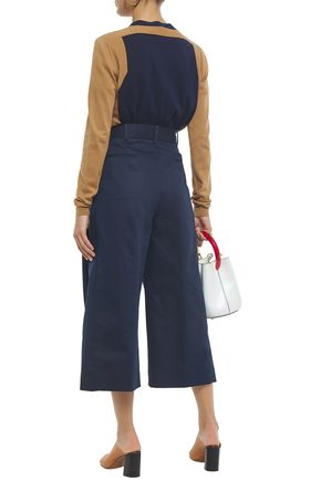 MARNI Cotton and linen-blend culottes