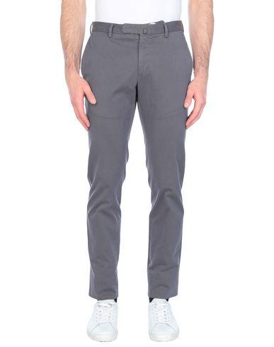 Фото - Повседневные брюки от INCOTEX свинцово-серого цвета