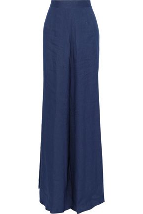 G. LABEL Liza linen wide-leg pants