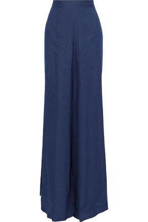 G. LABEL Liza linen wide-leg pants