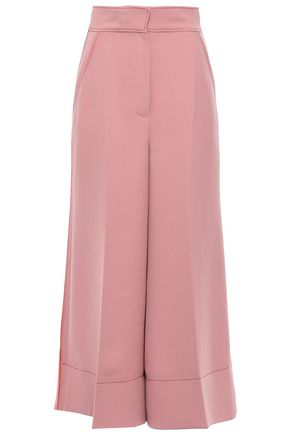 ROKSANDA Striped crepe wide-leg pants