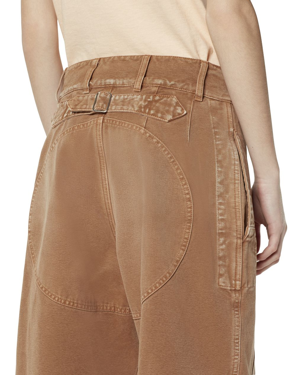 CROPPED DENIM PANTS - Lanvin