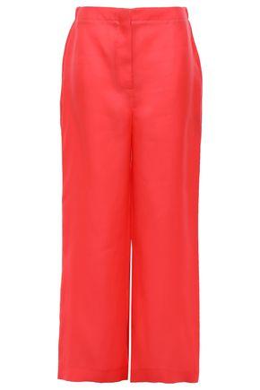 ROKSANDA Silk-twill wide-leg pants