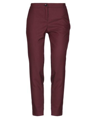 Фото - Повседневные брюки от HAPPY25 красно-коричневого цвета