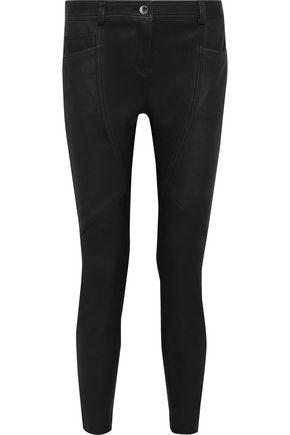 FAITH CONNEXION Leather skinny pants