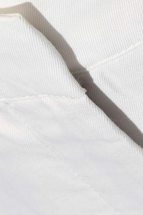 G. LABEL Eileen cropped twill straight-leg pants