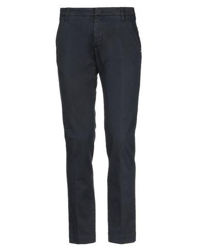 Фото - Повседневные брюки от ENTRE AMIS темно-синего цвета